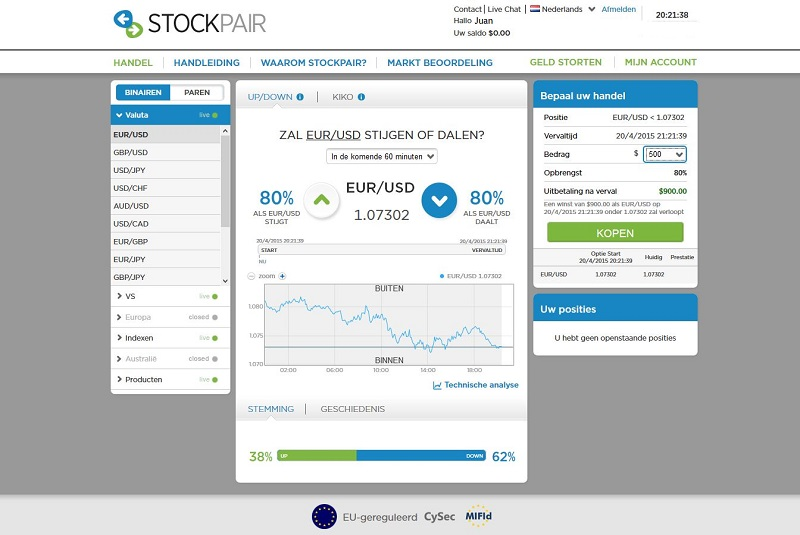 stokcpair forex broker